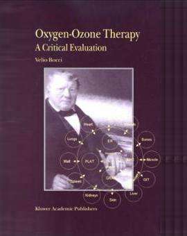 Portada del libro de ozonoterapia: Oxígeno-ozono terapia. Una evaluación crítica. Autor: Velio Bocci.