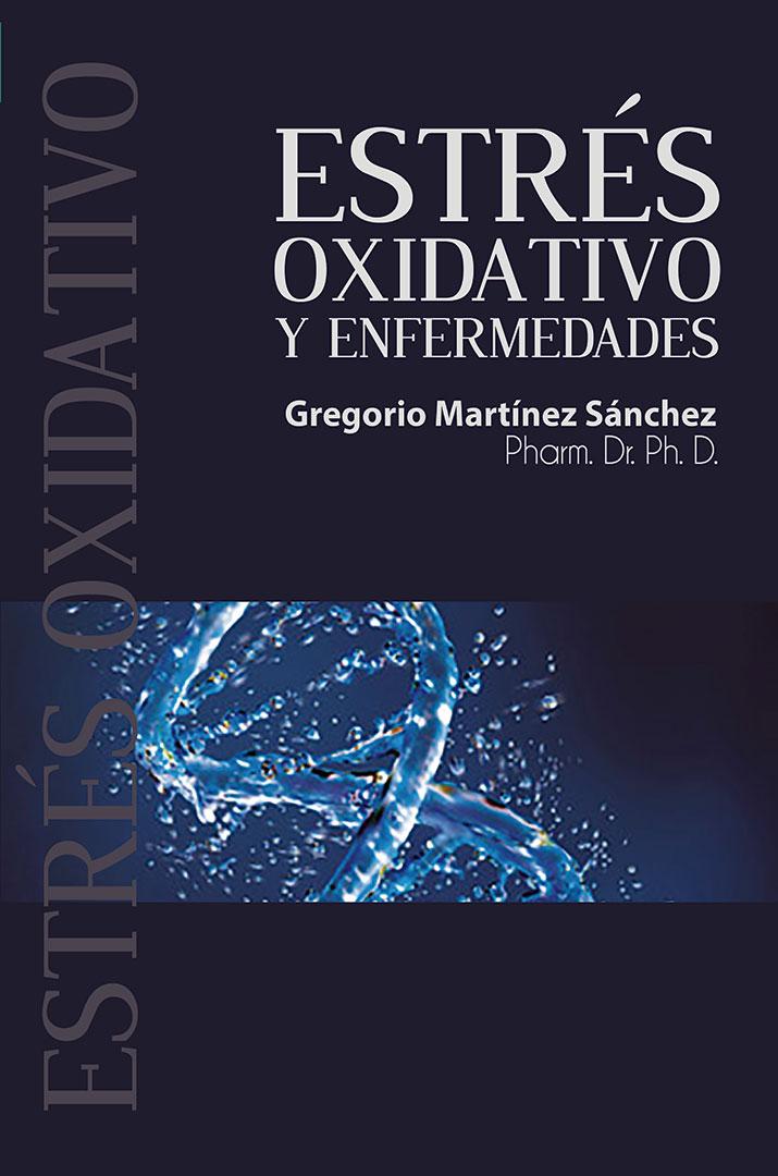 """Portada del libro """"Estrés oxidativo y enfermedades""""."""