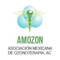 Asociación Mexicana de Ozonoterapia. Logo y enlace de esta asociación de ozonoterapia.