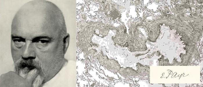 1935. Erwin Payr demuestra en Alemania el efecto curativo del ozono sobre las heridas.