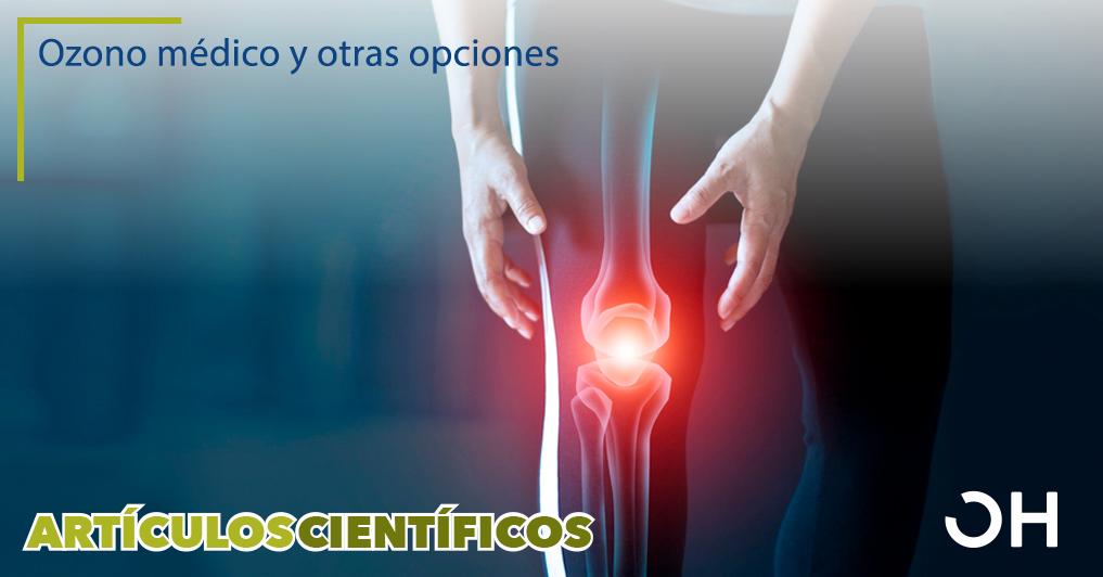 Inyecciones en la rodilla osteoartrítica: una revisión de las opciones de tratamiento actuales